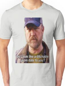 Supernatural - Bobby Singer - Do I Look Like A Ditchable Prom Date To You? Unisex T-Shirt