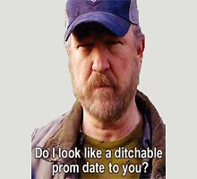Supernatural - Bobby Singer - Do I Look Like A Ditchable Prom Date To You? T-Shirt