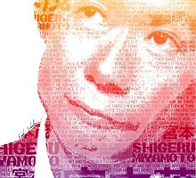 Nintendo Shigeru Miyamoto Poster by Erich Schuler