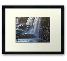 Tar River Falls Framed Print