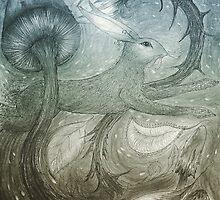 Hare Illustration by jbjobby