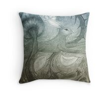 Hare Illustration Throw Pillow