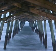 Bogue Inlet Pier by JGetsinger