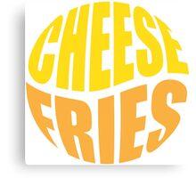 Cheese Fries Canvas Print