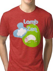 Lamb Zen Tri-blend T-Shirt