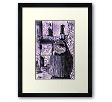 Chilling in the Breeze Framed Print