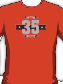 B-day 35 (Light&Darkgrey) T-Shirt