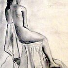 Seated Woman by Gitta Brewster