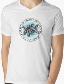 Geckos Mens V-Neck T-Shirt
