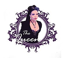 Regina The Queen Edit Photographic Print
