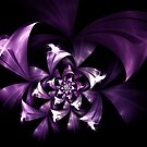 Purple flower by Patriciakb