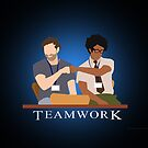 IT Crowd Teamwork - Wallpaper by surlana