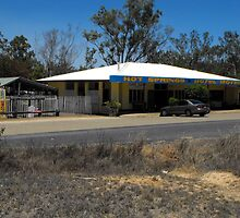 Hot Springs Hotel Motel - Innott Hot Springs, Queensland by Forto