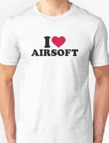 I love Airsoft Unisex T-Shirt