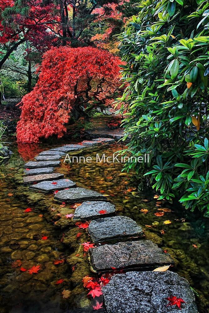 Japanese Garden by Anne McKinnell