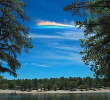 CHA over Harry Wright Lake by Paul Gitto