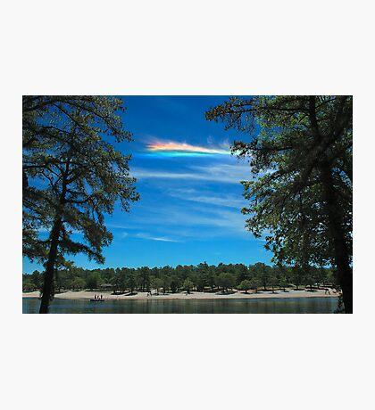 CHA over Harry Wright Lake Photographic Print
