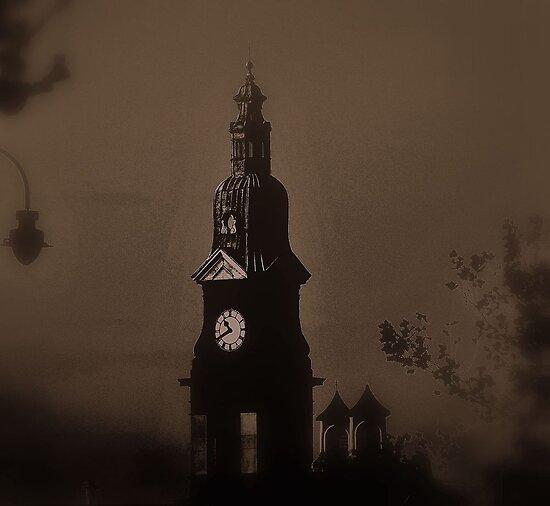 Beechams Clock Tower, St.Helens by Stan Owen
