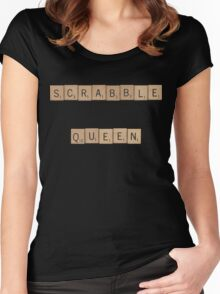 Scrabble Queen Women's Fitted Scoop T-Shirt