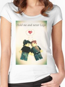 Never Lego Women's Fitted Scoop T-Shirt