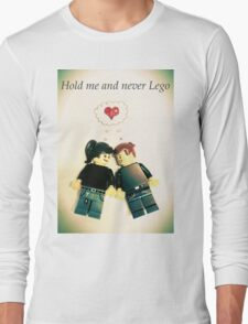 Never Lego Long Sleeve T-Shirt