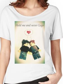 Never Lego Women's Relaxed Fit T-Shirt
