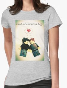 Never Lego Womens Fitted T-Shirt