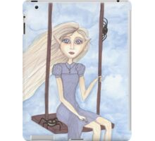 Charlotte, big eyes, fantasy art iPad Case/Skin
