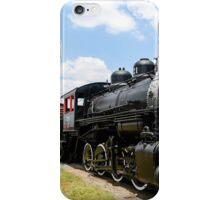 Old Black Steam Engine iPhone Case/Skin