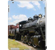 Old Black Steam Engine iPad Case/Skin