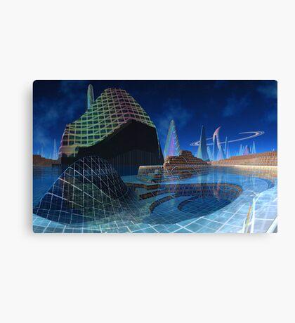 Star Cruising - Solaris Traveller Canvas Print
