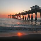 Sharky's sunset, Florida by Patricia Bier