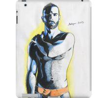 Aquarell man#2 iPad Case/Skin