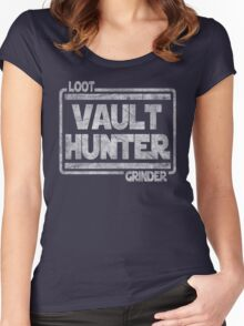 Vault Hunter, Loot Grinder Women's Fitted Scoop T-Shirt