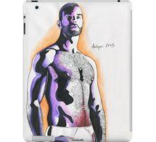 Aquarell man#1 iPad Case/Skin