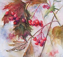 Autumn Berries by Patricia Henderson