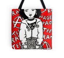 Teenage Rampage Tote Bag