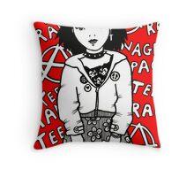 Teenage Rampage Throw Pillow
