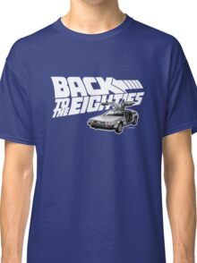 Delorean Back to the Future 80s Style Classic T-Shirt
