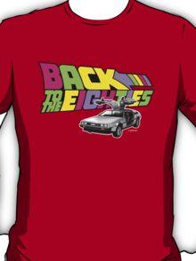Delorean Back to the Future 80s Style T-Shirt