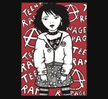 Teenage Rampage Hoodie by Anita Inverarity