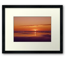 Ballybunnion Sunset 1 Framed Print