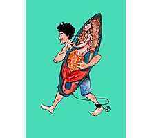Lucky Surfboard Photographic Print