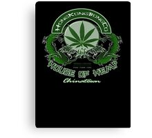 house of hemp Canvas Print