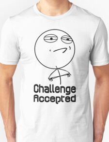 Challenge accepted nerd geek funny geeky T-Shirt