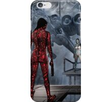 Cyberpunk Painting 054 iPhone Case/Skin