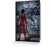 Cyberpunk Painting 054 Greeting Card