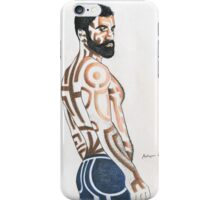 Fine man iPhone Case/Skin