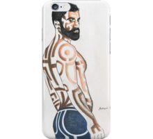 Fine man iPhone Case/Skin