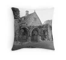 Chapter House Much wenlock Abbey Shropshire Throw Pillow